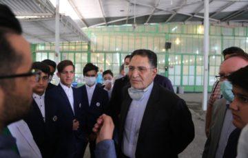 رزمایش همدلی با حضور مسئولین استان و شهرستان