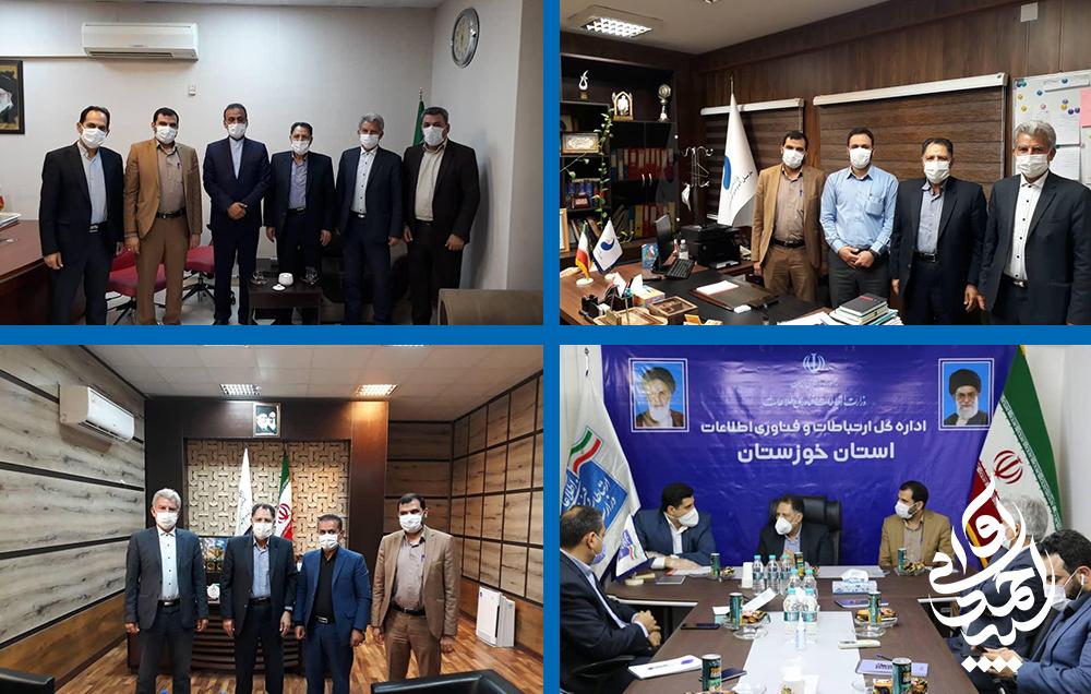 نشست های سید احمد آوایی با مدیران کل ادارات خوزستان برگزار شد