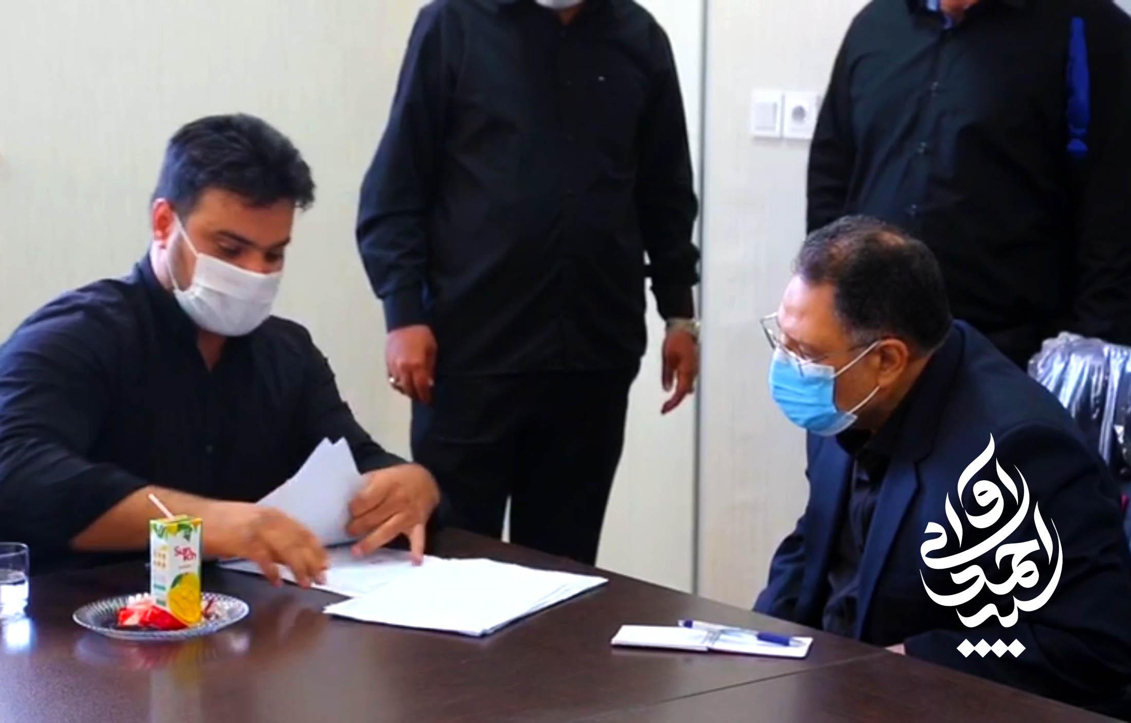 دیدار عمومی سید احمد آوایی با مردم شریف شهرستان دزفول