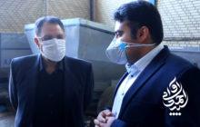سید احمد آوایی از شرکت دانش بنیان تولید کننده دستگاه کارنده قلمه نیشکر بازدید کرد