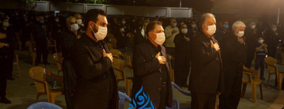 گزارش تصویری- سید احمد آوایی شب عاشورا به همراه سوگواران حسینیه ثارالله دزفول به عزاداری پرداخت