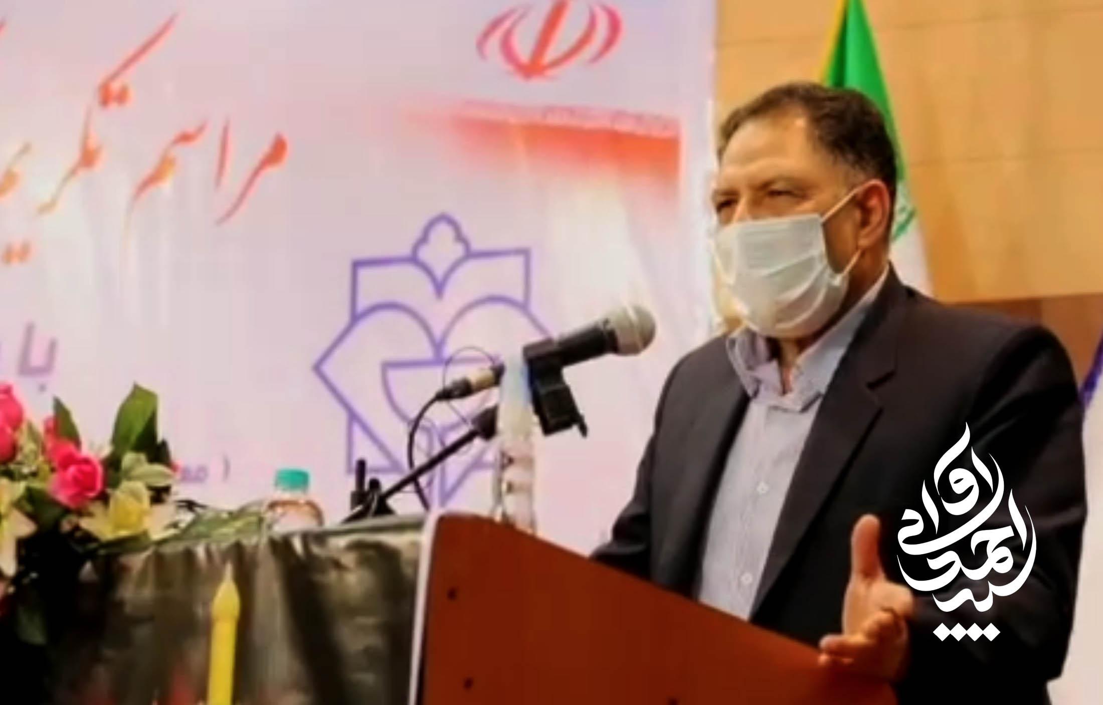 گزارش ویدئویی-حضور سید احمد آوایی در مراسم تکریم و معارفه ریاست دانشگاه علوم پزشکی شهرستان دزفول