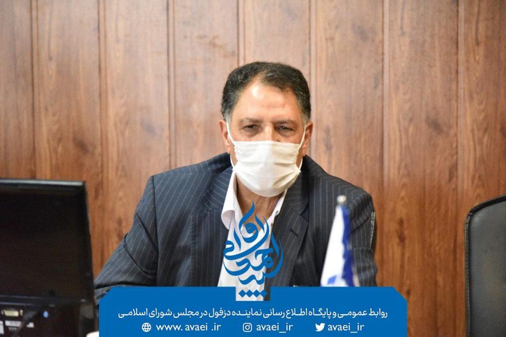 دیدار سید احمد آوایی، نماینده دزفول با صالحی عمران ریاست دانشگاه فنی حرفه ای