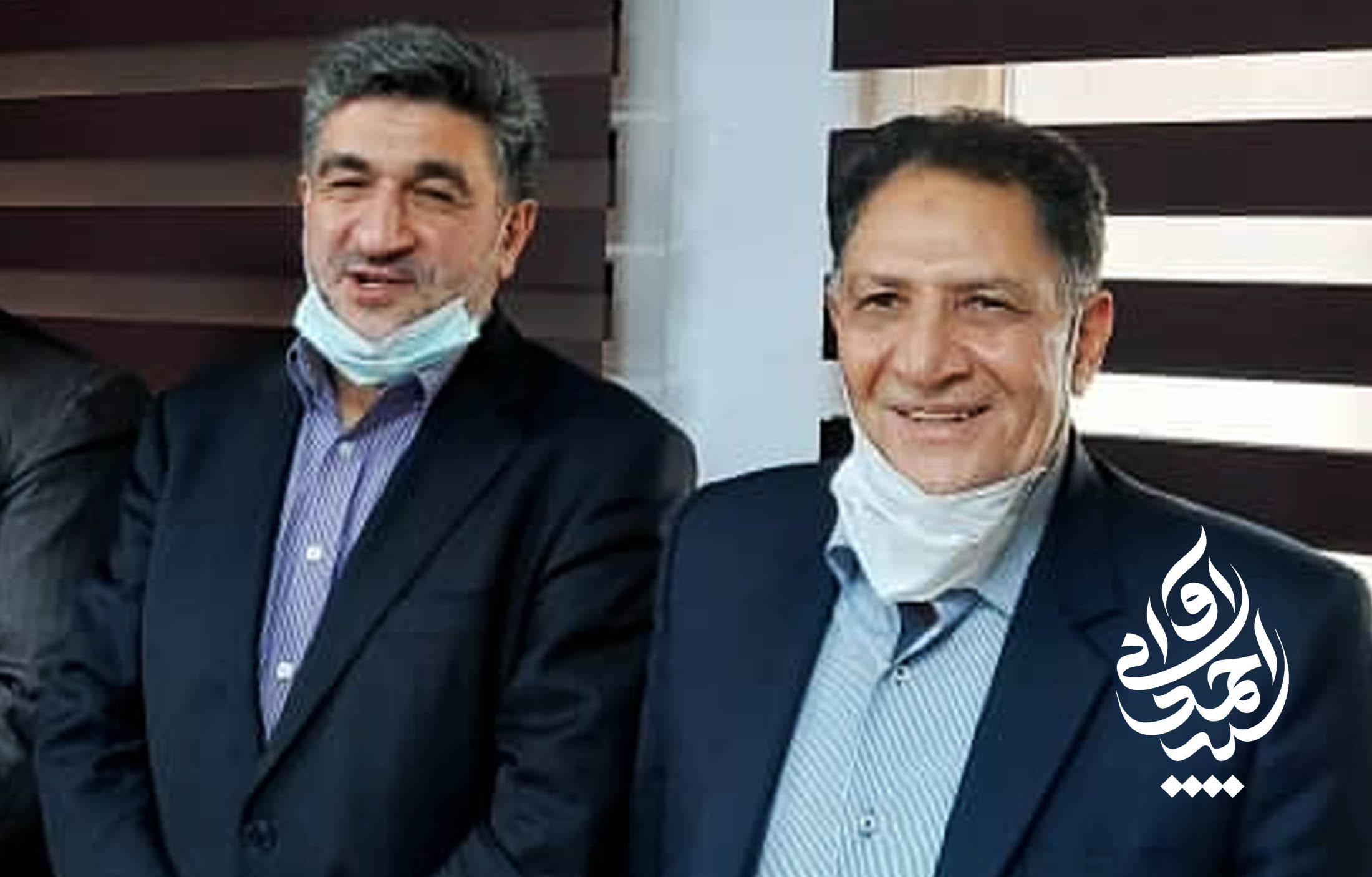 سید احمد آوایی نماینده دزفول با مدیرعامل بانک صادرات دیدار کرد