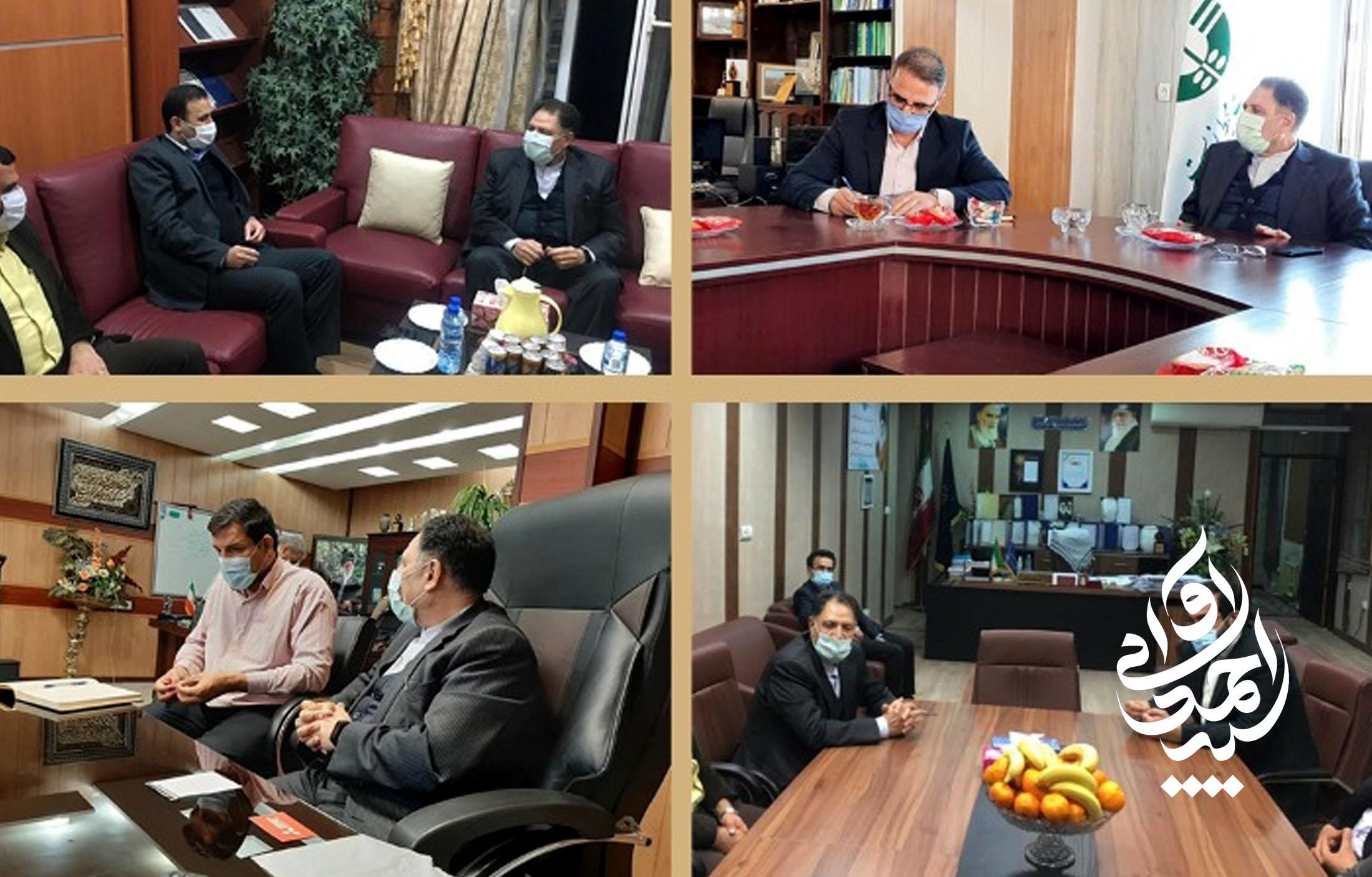 رایزنی با مدیرانکل استان خوزستان جهت اجرای مصوبات جلسات با وزرا و روسای سازمانها