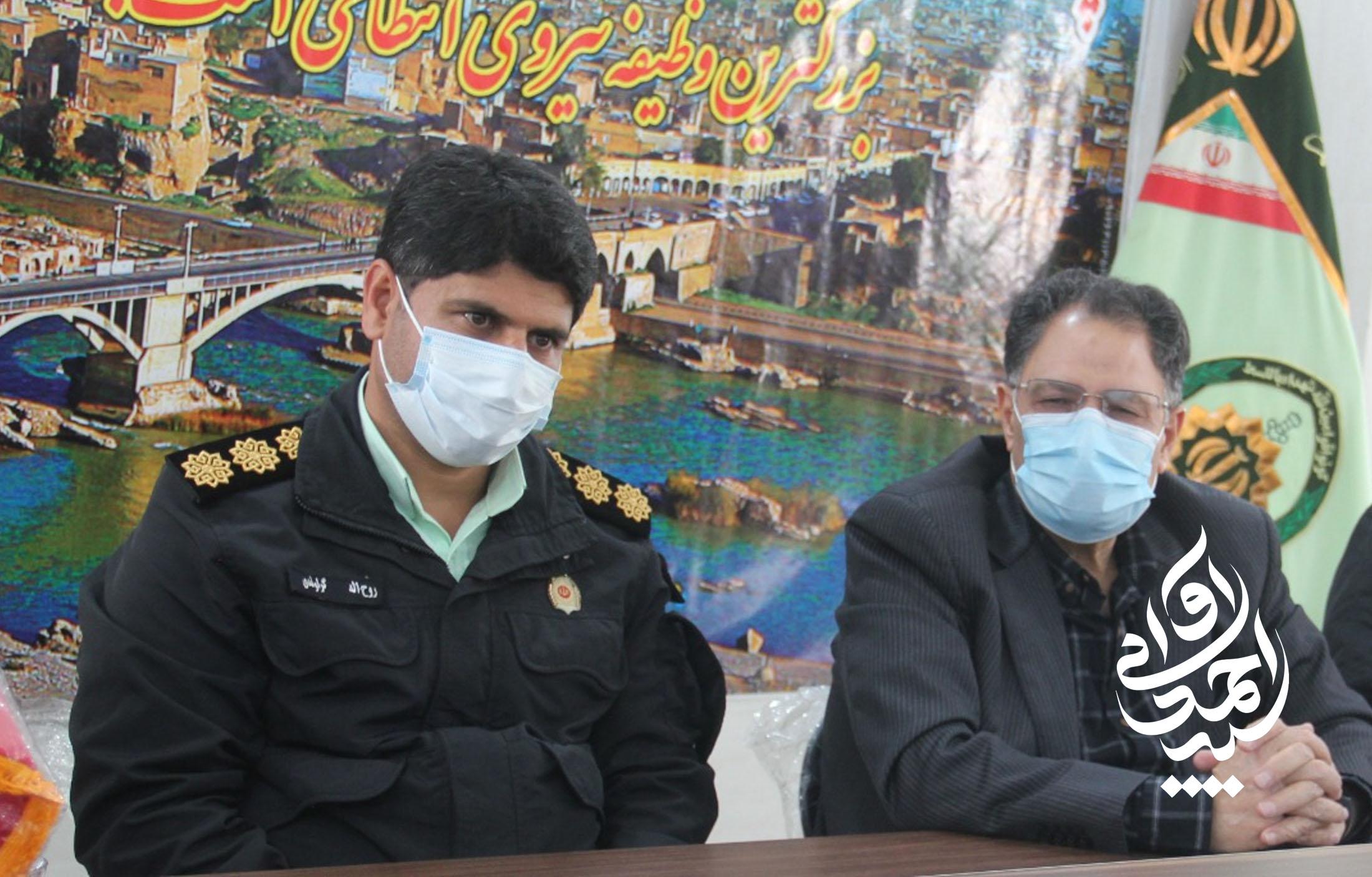 ارتقا سطح نیروی انتظامی اقدامی کلیدی در راستای توسعه امنیت شهرستان دزفول