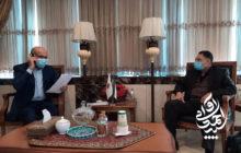 پیگیری مصوبات جلسه نماینده دزفول با وزیر کشاورزی در دیدار با معاونان وزیر
