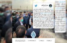 توئیت سید احمد آوایی نماینده مردم شریف شهرستان دزفول پس از بازید از مشکلات بخش مرکزی