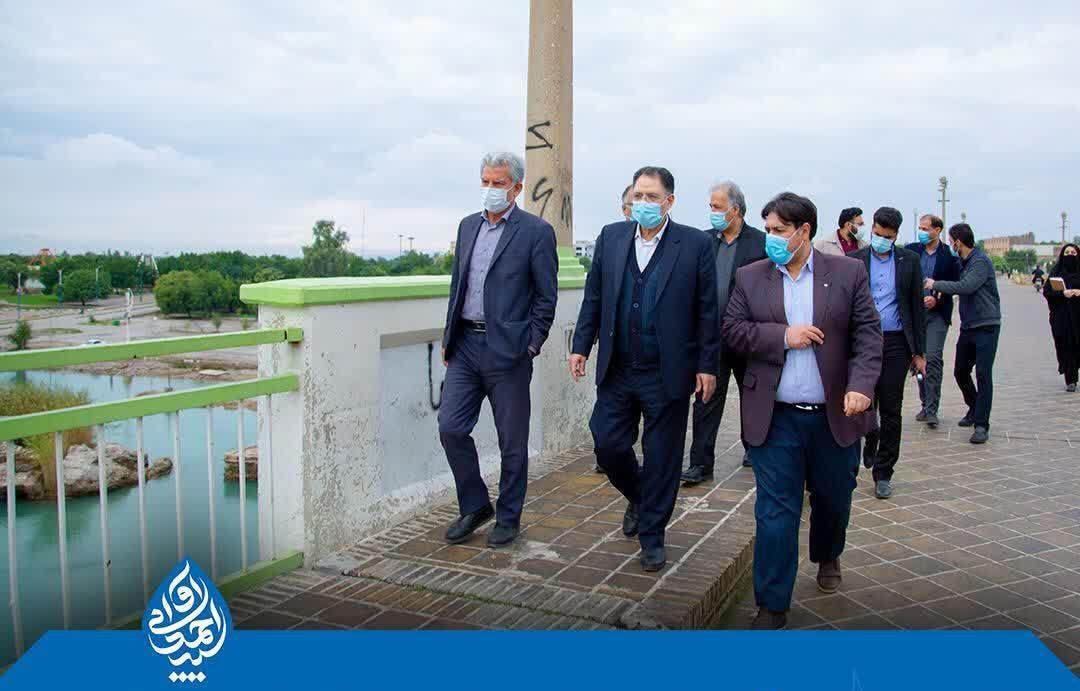 با تلاش آوایی ۱۷ میلیارد ریال جهت احیای پل تاریخی دزفول اختصاص یافت