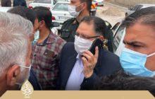 بازدید ویژه نماینده دزفول و بررسی مشکلات بخش مرکزی(۱) / از تعریض و بهسازی جاده شهر شمسآباد تا مشکل روشنایی شهر
