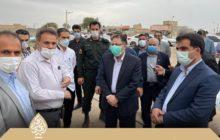 بازدید ویژه نماینده دزفول و بررسی مشکلات بخش مرکزی (۲) / از پل ورودی صفی آباد تا مشکل افت فشار آب در این شهر
