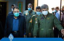 مسئولان ارشد شهرستان دزفول در پایگاه چهارم شکاری دزفول حضور پیدا کردند