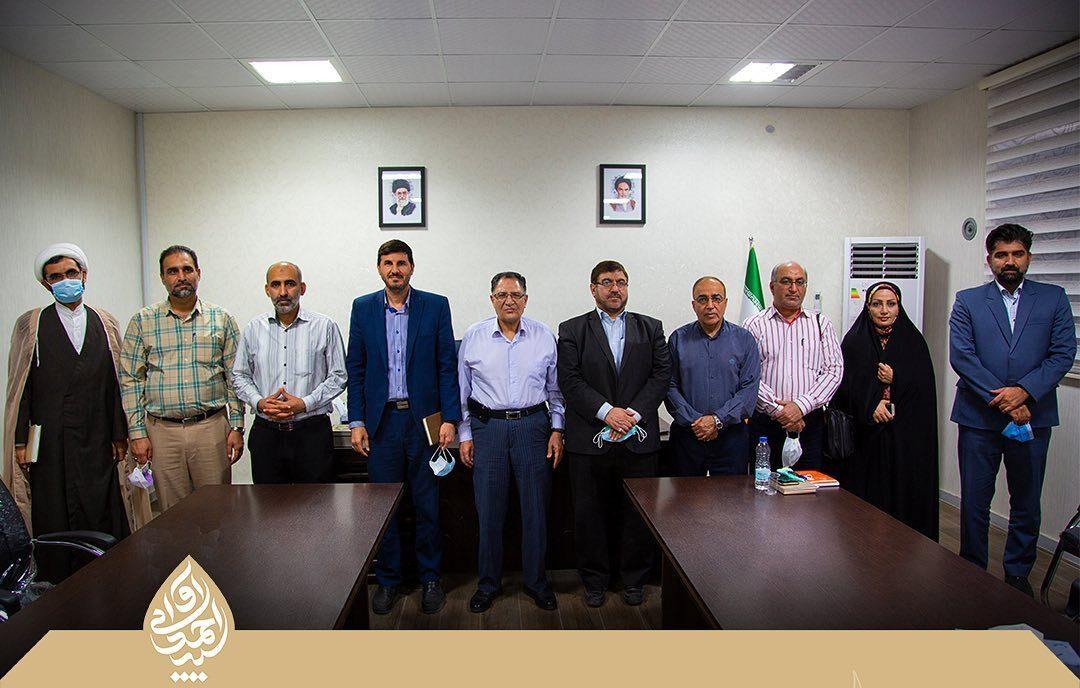 اولین نشست اعضای منتخب شورای ششم با نماینده مردم شریف دزفول برگزار شد