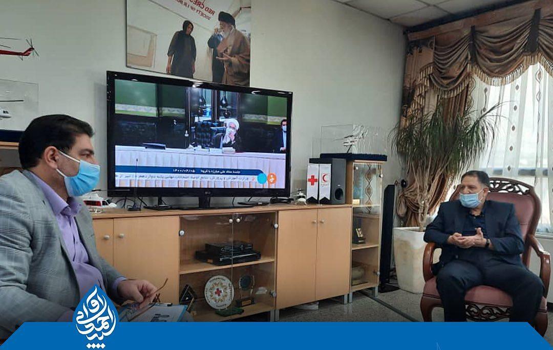 آوایی از تجهیز امکانات و توسعه هلال احمر شهرستان دزفول خبر داد