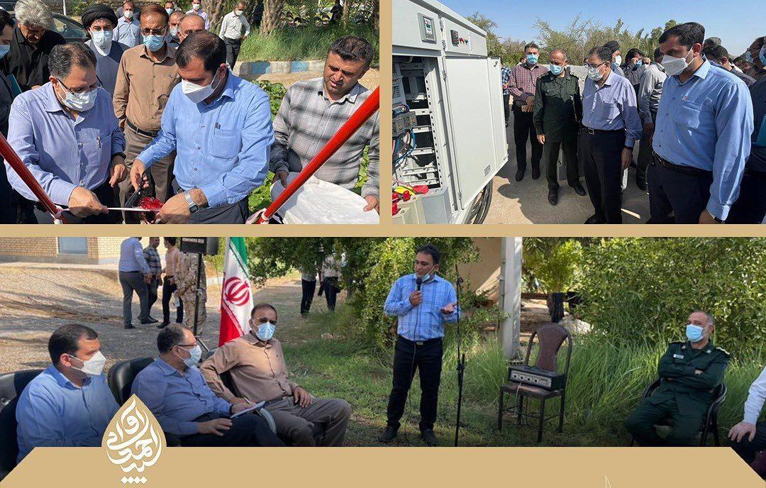 با پیگیری ویژه سید احمد آوایی مشکل آب شرب شهیون و روستاهای این بخش حل شد